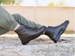 Ботинки кожаные болотные Stronger на байке