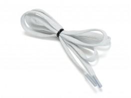 Шнурки серебряные лента (100 см)