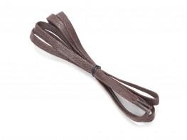 Шнурки коричневые (110 см)
