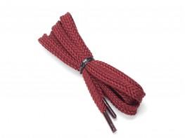 Шнурки бордовые (110 см)