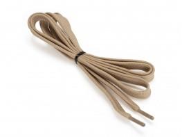 Шнурки бежевые (120 см)