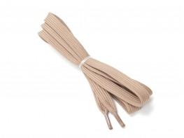Шнурки темно-бежевые (120 см)
