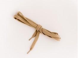 Шнурки бежевые (140 см)