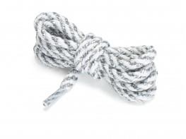 Шнурки серебряные (90 см)
