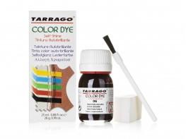 Краска для кожи (гладкой) Tarrago Color Dye 25 мл (темно-коричневый)