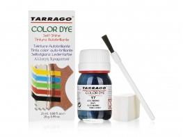 Краска для кожи (гладкой) Tarrago Color Dye 25 мл (темно-синий океан)