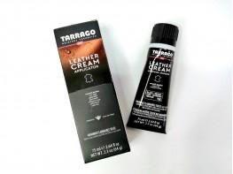 Крем для обуви с губкой Tarrago Leather Cream 75 мл (черный)