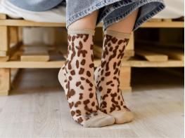 Носки коричневые (капучино)