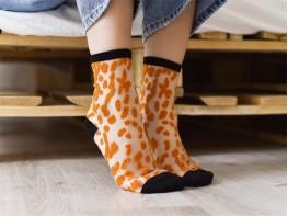 Носки желтые (карри)