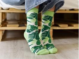 Носки зеленые (лайм)