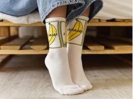 Носки белые (Банан)