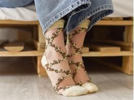 Носки бежевые (ванильные)