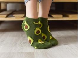 Носки зеленые (авокадо)