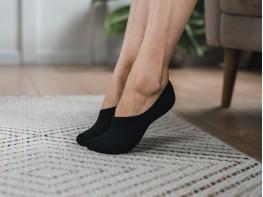 Носки невидимые хлопковые черные