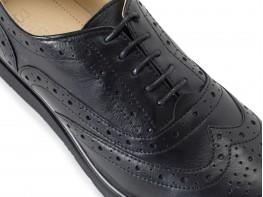 Туфли кожаные черные Oxford