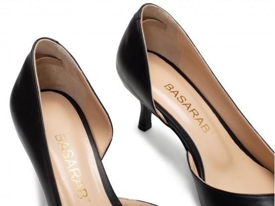 Туфли кожаные черные Lady